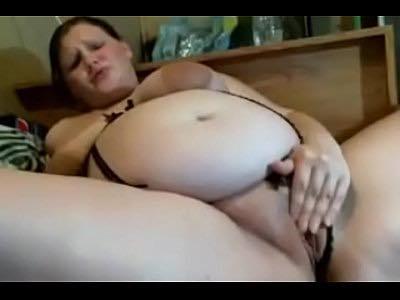 Fat Preggo Masturbation On Live Cam