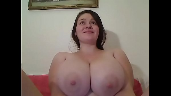 Huge pregnant breasts teasing
